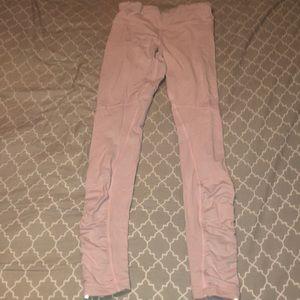 Lululemon light pink leggings